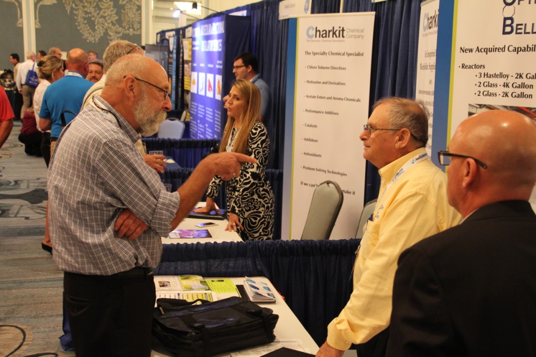 Chemicals America Show attendees